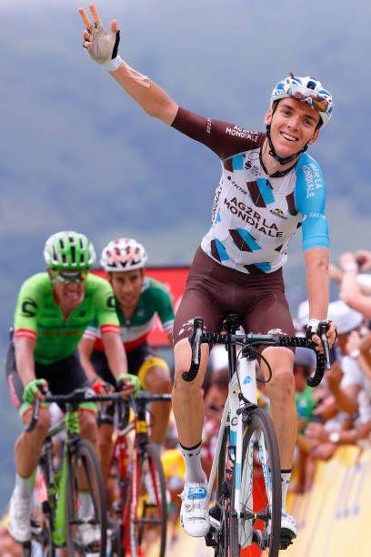104th Tour de France 2017 / Stage 12 Arrival / Romain BARDET Celebration / Rigoberto URAN / Fabio ARU / Pau Peyragudes 1580m / TDF/