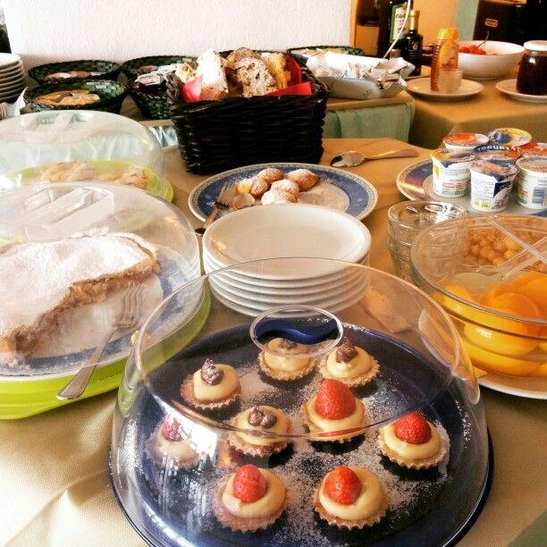 Our Breakfast buffet of new year 2015. #iloveischia