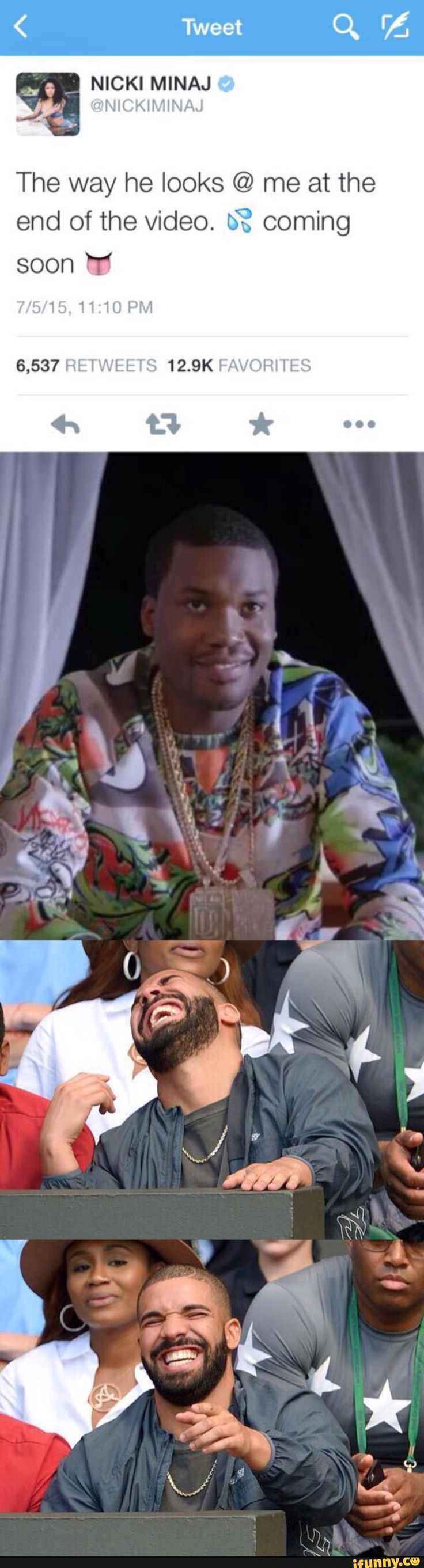 Meek mill is so fckin ugly I would choose my baby drake over that nigga any day! #TeamDrizzy