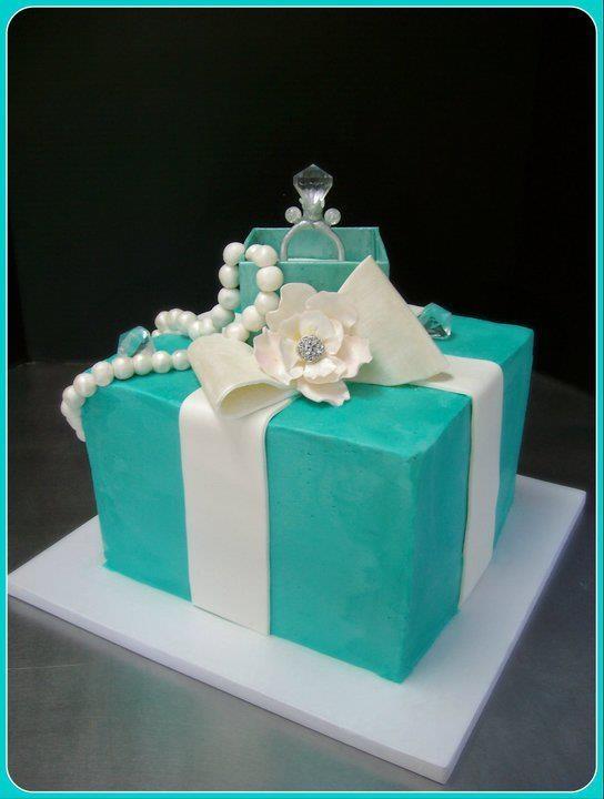 Breakfast At Tiffany S Bridal Shower Cake Tiffany S And