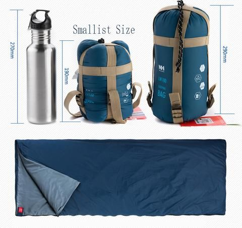 PuTwo Camping Sleeping Bag Ultralight Camping Euipment Compact Sleeping Bag - PuTwo  - 5