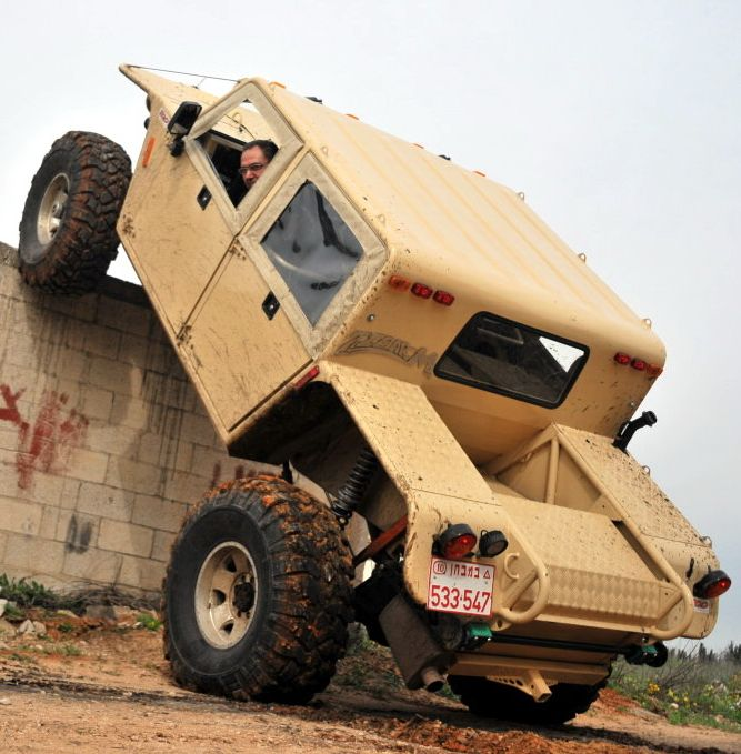 Zibar-M   Ground clearance: 370 mm below the Front Axle, under the car body 550 mm