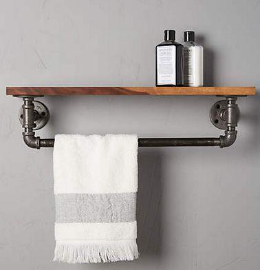 9 best La Salle de Bain images on Pinterest Bathroom ideas, Room - porte serviette salle de bain design