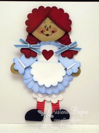 raggedy ann#Repin By:Pinterest++ for iPad#: Raggedy Anne, Art Raggedy, Punch Ideas, Photo Ideas, Cute Pet, Stampin Up, Punchart, Paper Punch, Cards Punch Art