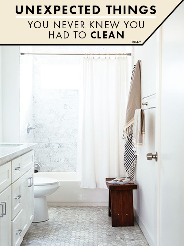Unexpected Things You Never Knew You Had To Clean