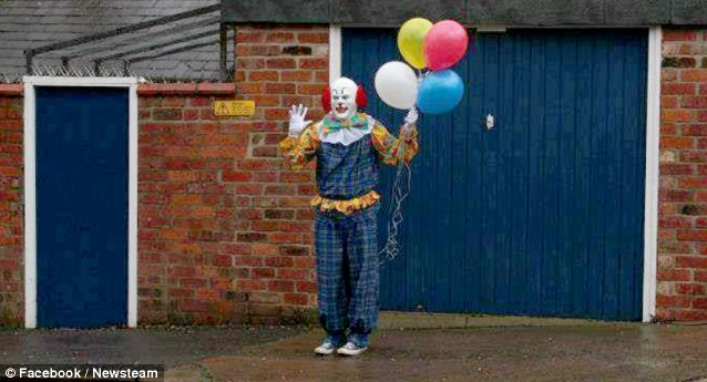 Northampton Clown denies trying to scare inhabitants of terrified ...