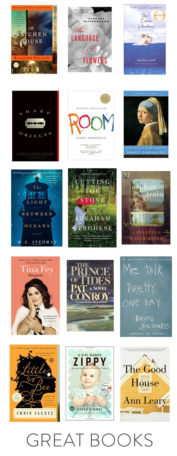 Elements of Style Blog | 15 Great Reads. | http://www.elementsofstyleblog.com
