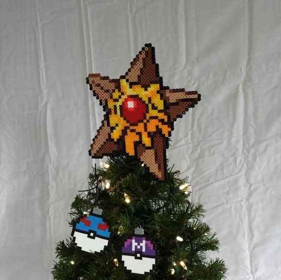 Staryu Tree Topper Staryu Christmas Tree Topper