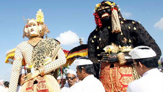 Barong Landung : Balinese Legend #baliaround