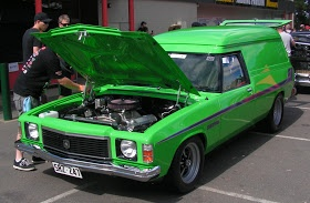 Gotta love a street legal panel van! Tickets to Summernats 27 are on sale right now! Visit the website for more details. http://www.summernats.com.au