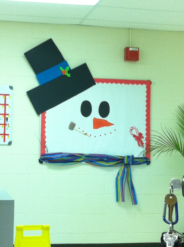 33 best images about Snowman Bulletin Boards and Doors on ...