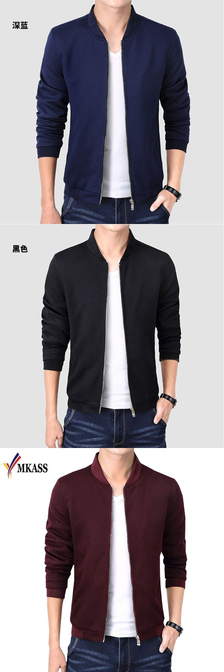 Hot Sale 2017 New Fashion Brand Jacket Men Clothes Trend College Slim Fit High-Quality Casual Mens Jackets And Coats M-4XL