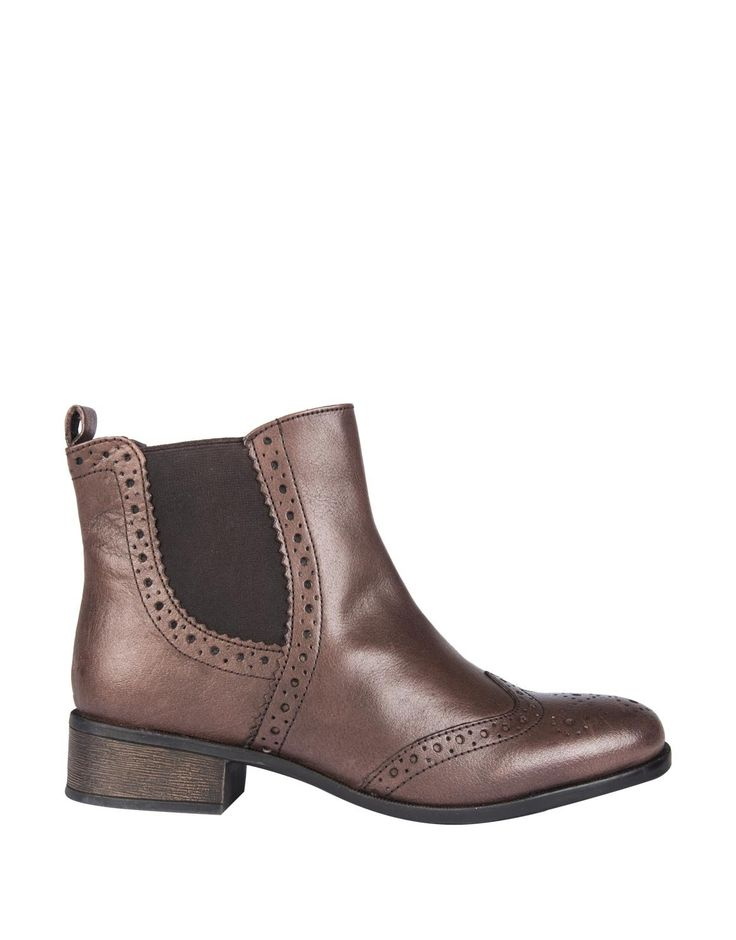 Leather Brogue Chelsea Boots | Woolworths.co.za (R900)
