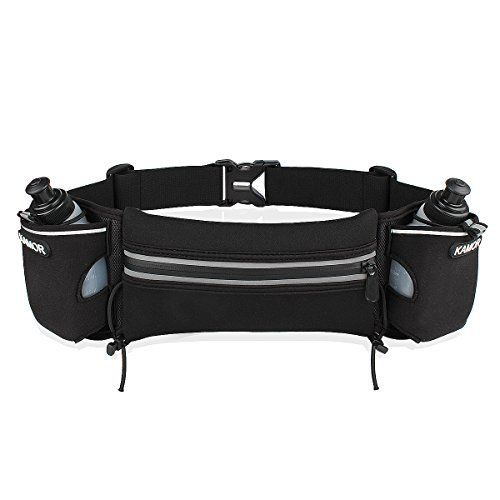 Kamor Hydration Running Belt with 2 6oz BPA Water Bottles - http://www.exercisejoy.com/kamor-hydration-running-belt-with-2-6oz-bpa-water-bottles/fitness/