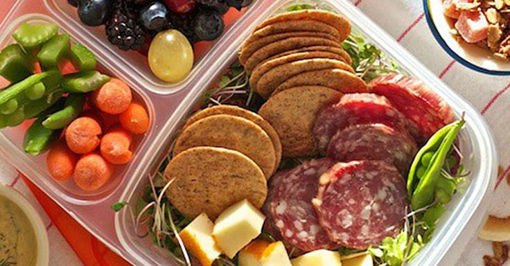 Try one of these 10 bento box lunches for a new, portable, and less messy way to pack a balanced meal.