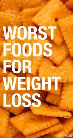 These foods are the WORST to eat if you're on a diet or trying to lose weight!