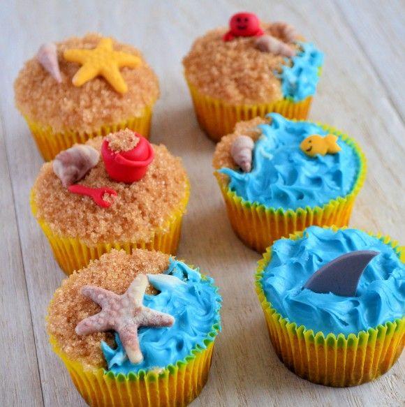 zomerse cupcakes