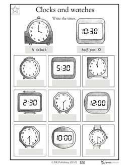 17 Best images about Telling time on Pinterest   To tell, Anchor ...