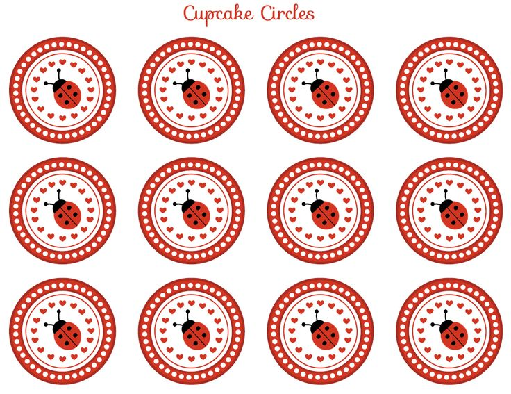 FREE Ladybug Party Printables from Printabelle | Catch My Party