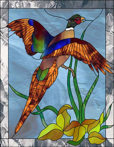 Western Stained Glass Patterns | Get the stained glass pattern you want delivered instantly to your ...