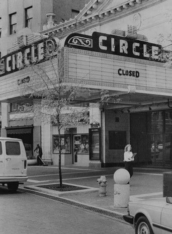 The marquee on the Circle Theatre told the story. United Artists Theater ceased operations at the Circle Theater Oct 6, 1981. Bob Doeppers/The News