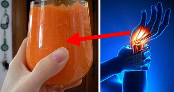 ananas morcovi telina si lamaie pentru articulatii dureroase