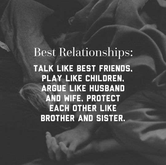 The Best Relationships Are Like