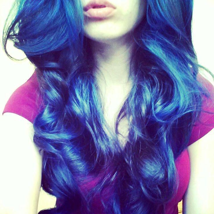 57 Best Blue Hair Color Images On Pinterest