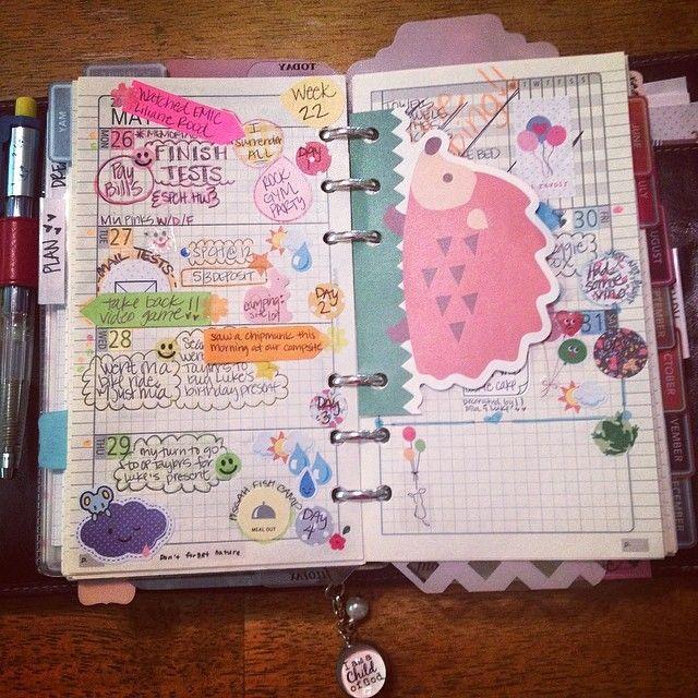 Filofax journal/planner