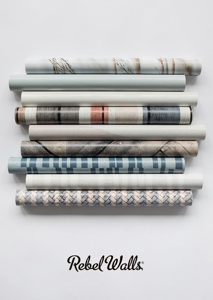 Rebel Walls Trend Collection 2|17: Shore & Lines. Marine wallpaper designs with timeless stripes and seaside motifs.