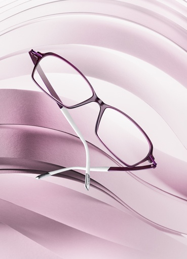 Silhouette Titan Impressions Fullrim: Model 1552,Colour 6054 Purple Dreams
