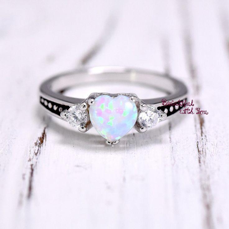 25+ cute White opal ring ideas on Pinterest | Opal rings ...