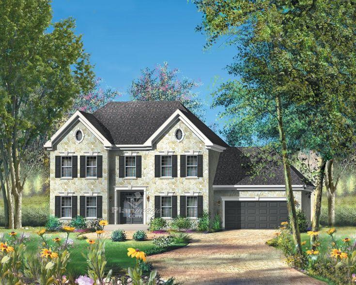 72 best My Dream House images on Pinterest Design floor plans - plan maison demi sous sol