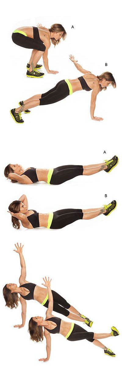 This circuit by Jillian Michaels, combines strength-training and cardio so you torch major calories while you tone.