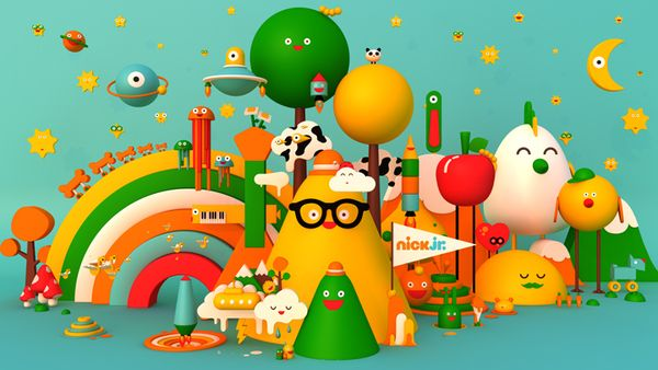 The world of Nick Jr. by Plenty , via Behance