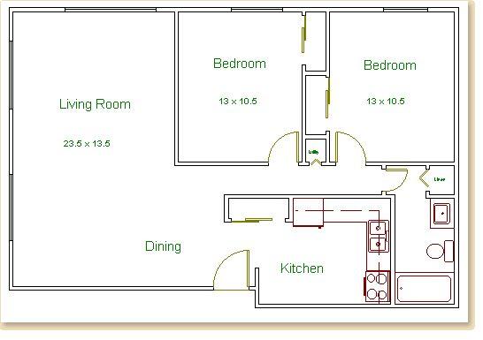 Bedroom Apartments In Wisconsin