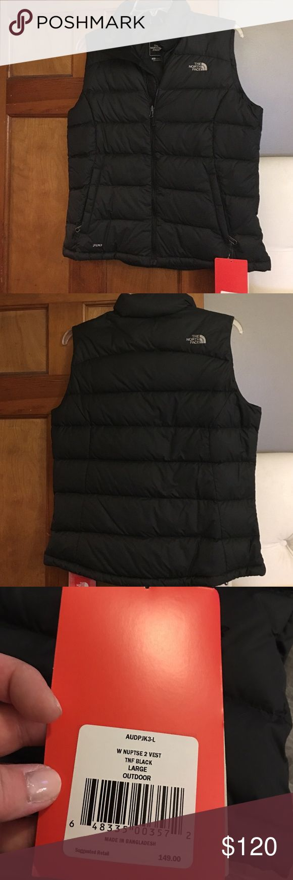 NWT The North Face Nuptse 2 Vest size large NWT The North Face Nuptse 2 Vest TNF black size large retails for $149 The North Face Jackets & Coats Vests