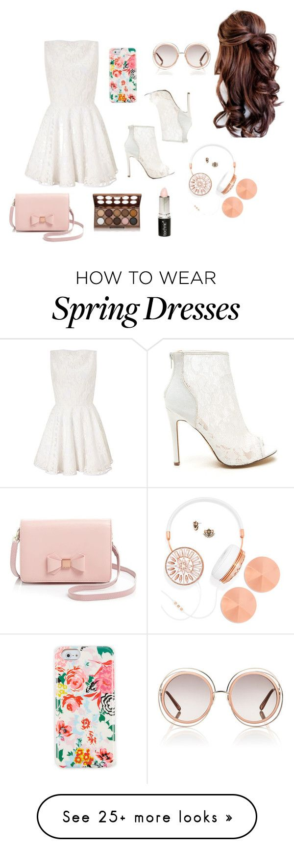 """Spring"" by ally-bear12 on Polyvore featuring moda, Lipsy, ban.do, Chloé, BaubleBar, Boohoo, NYX e Ted Baker"