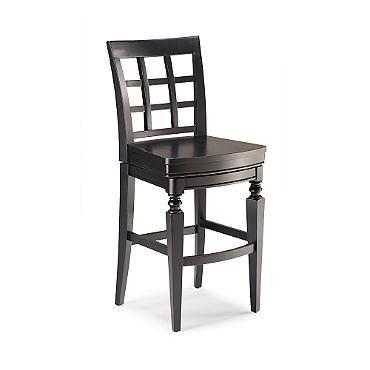 "Napa Wooden Seat Swivel Bar Height Bar Stool (28-1/2""H seat)"