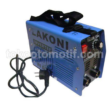 Jual Mesin Las Listrik Lakoni Inverter Falcon 120e Harga Murah. Mesin las listrik merupakan salah satu alat yang digunakan untuk membantu dalam menyambung