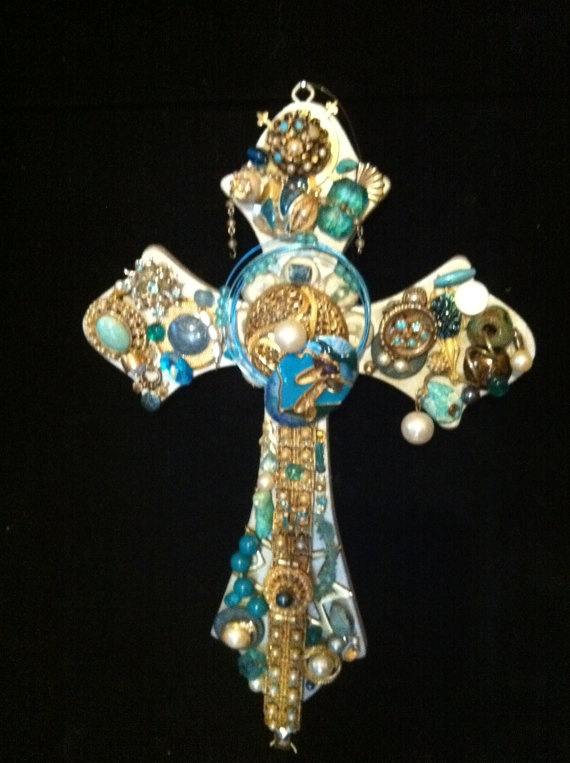 1000 Images About Mosaic Crosses On Pinterest Mosaic