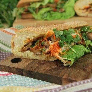 Vietnamesisk food truck macka - Recept från Mitt kök - Mitt Kök | Recept | Mat | Vin | Öl