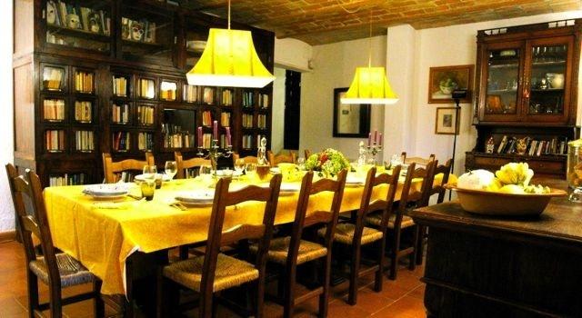 Villa in Tuscany - dining roomDining Room