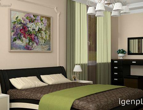 Нежная спальня. Чувствуется летняя свежесть благодаря использованным цветам и картине над изголовьем. Автор дизайна дома: Маргарита Даймонд #дизайнинтерьера #igenplan #дизайндома  #интерьердома  #дизайнспальни #интерьерспальни