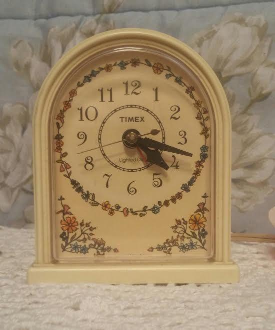 Alarm Clock - Vintage Alarm Clock - Timex Alarm Clock - Retro Alarm Clock - Mid…