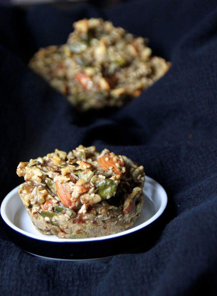 Muffins af frø og mandler