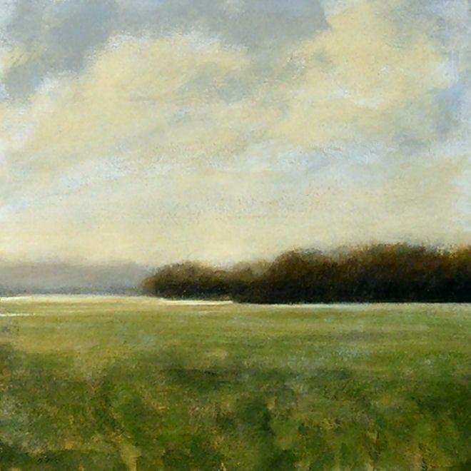 Landscape Painting by J Shears. $100.00, via Etsy.