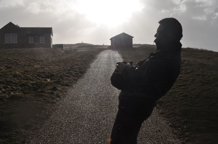 Egon the Storm - January 2015 - At Vesterhavet w/ My dad