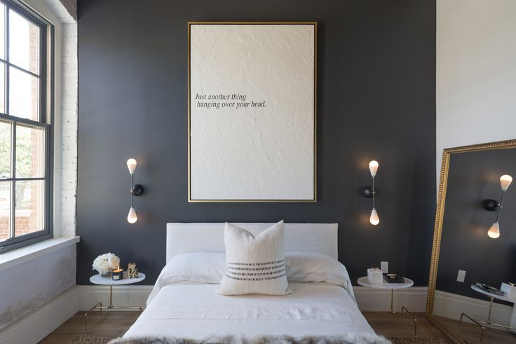 My Painting In Tamara Magel S Designer Bedroom At The Hc Amp G