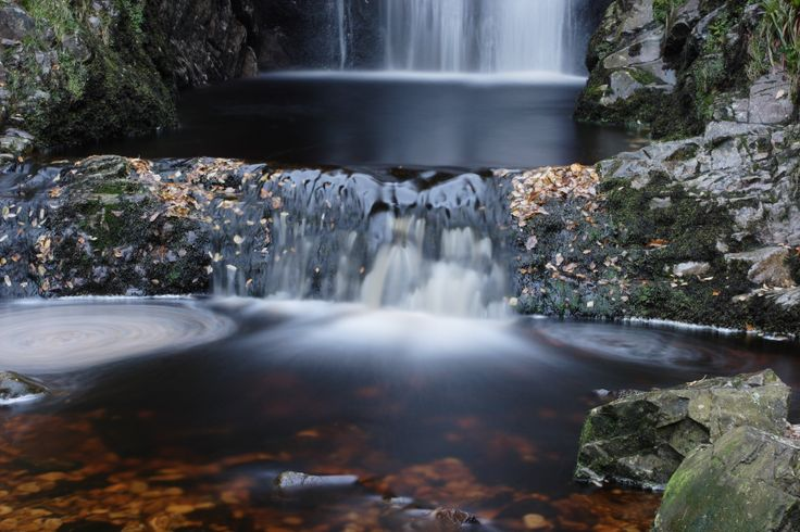 Glenevin waterfall, County Donegal, Ireland